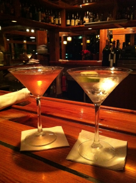Martinis @ Pearl's Saltwater Grill