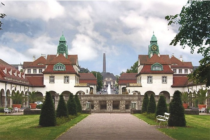 Sprudelhof in Bad Nauheim