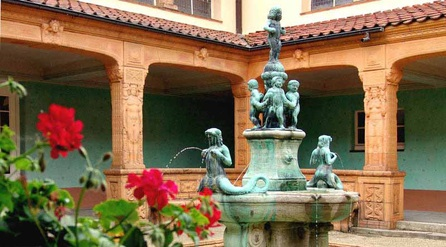 Ornate fountain