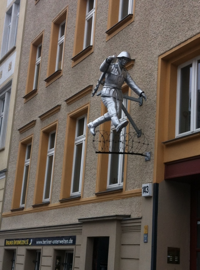 Soldier in Berlin
