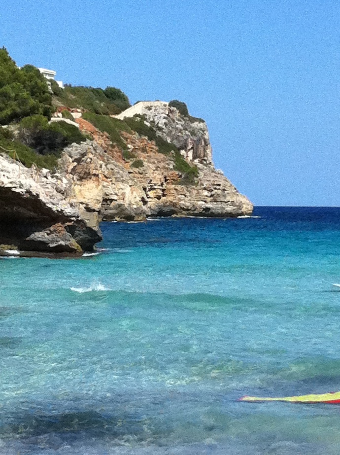 sheltered cove in Mallorca