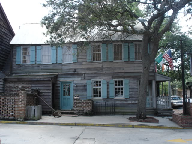Old slave house in Savannah
