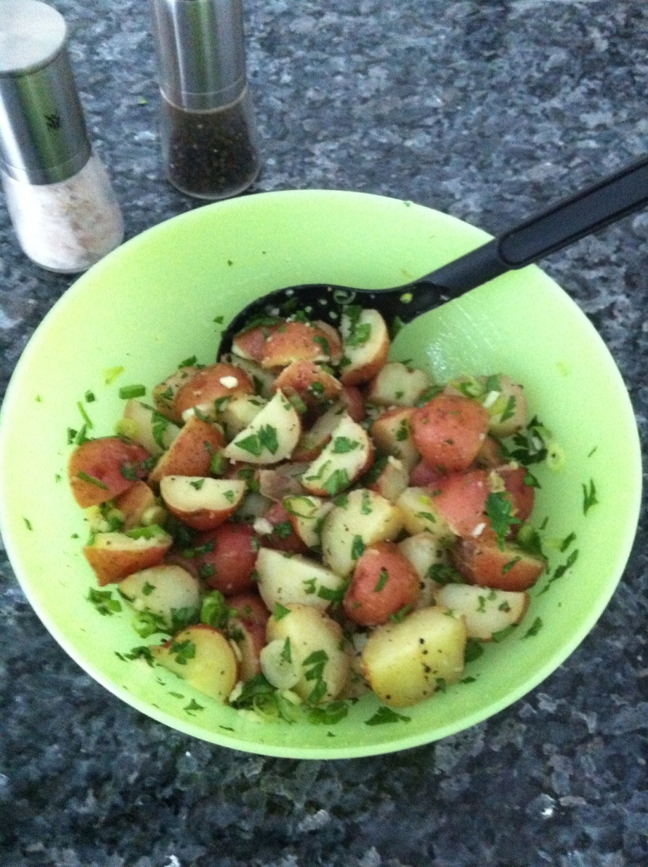 Armenian potato salad