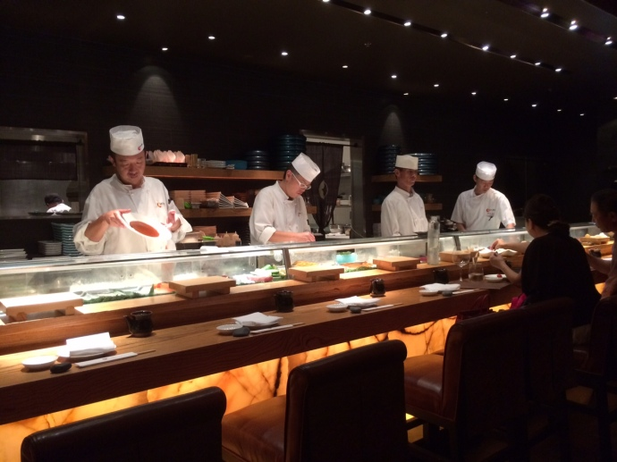Nobu sushi chefs
