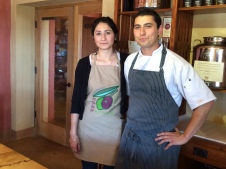 Chef Alex Martin (R) and his sister