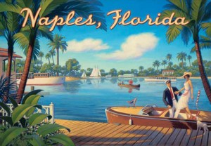 Naples-Florida-Travel-Poster