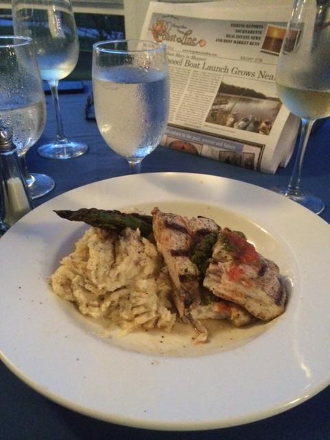 Fresh Swordfish @ The Gibson Inn