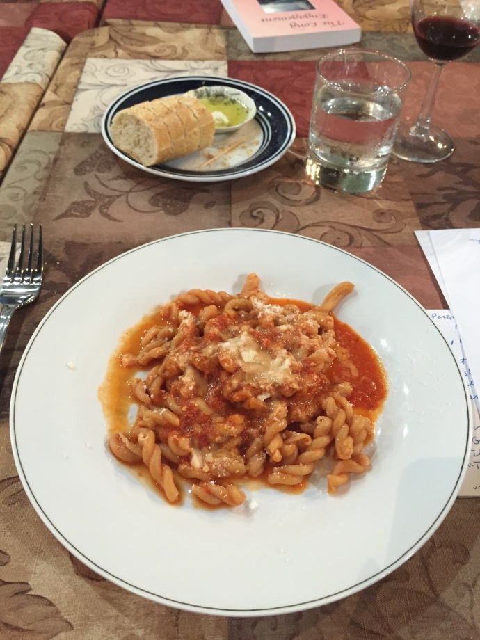 Gemelli with Vodka Sauce