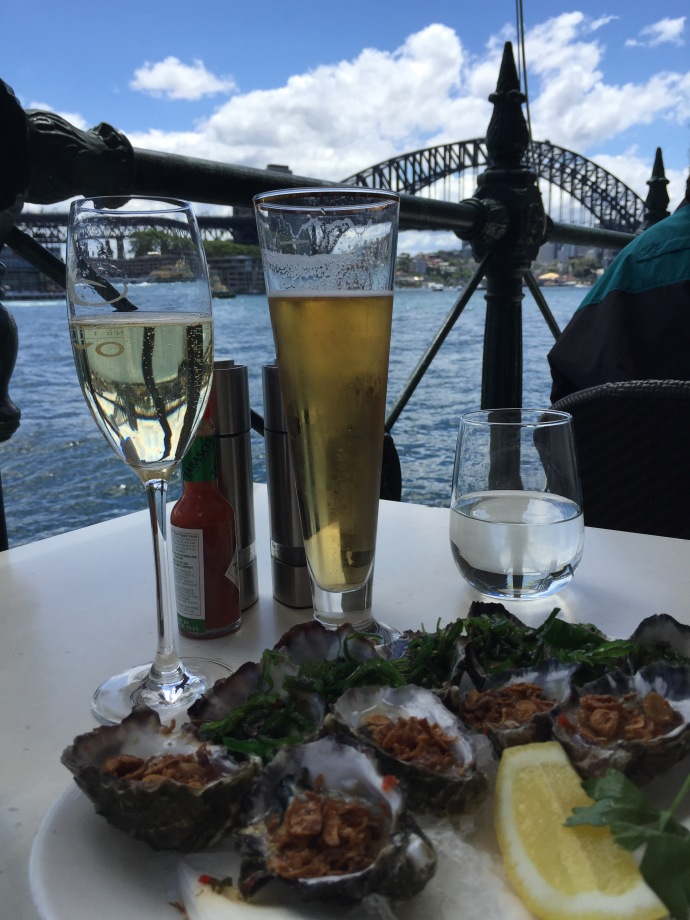 Oysters at The Rocks