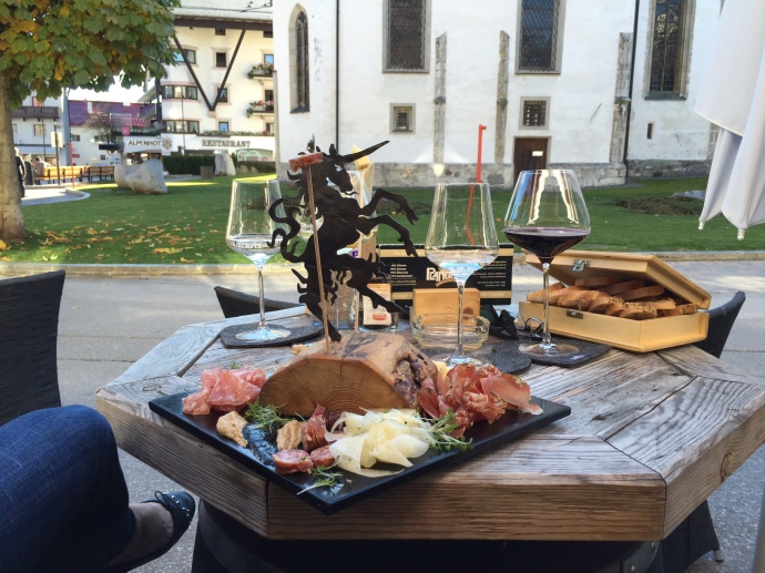 Charcuterie & Wine in Seefeld
