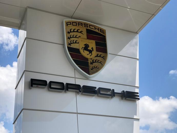 Porsche Sign